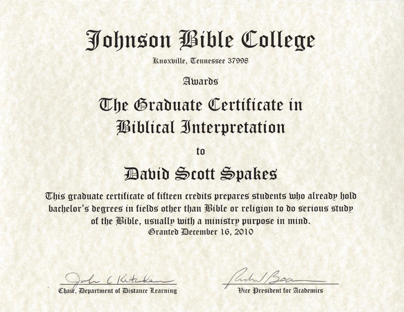 vacation bible school attendance certificate printable